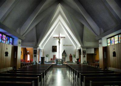 Kościół Parafialny wewnątrz