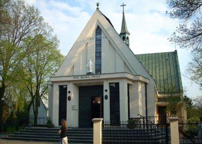 Kościół Parafialny zzewnątrz